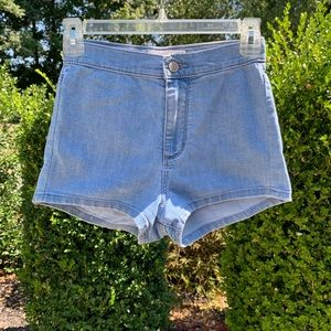 Garage High Waisted Roller Short